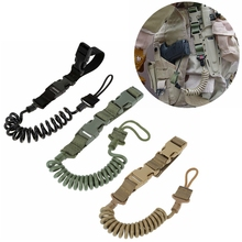 Two-Point-Gun Rope Spring-Strap Hunting-Accessories Military-Gun Paintball Airsoft Tactical