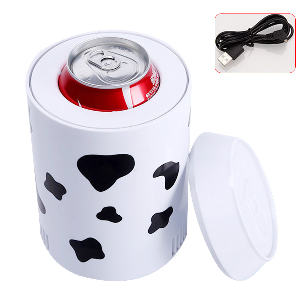 Charging Travel Portable Multifunctional Bedroom Home School Car Fridge Beverage Office title=