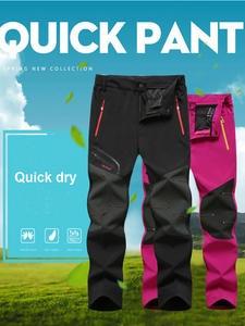 Trousers Outdoor-Pants Trekking Oversized Climb Fishing Waterproof Plus-Size Summer Camping