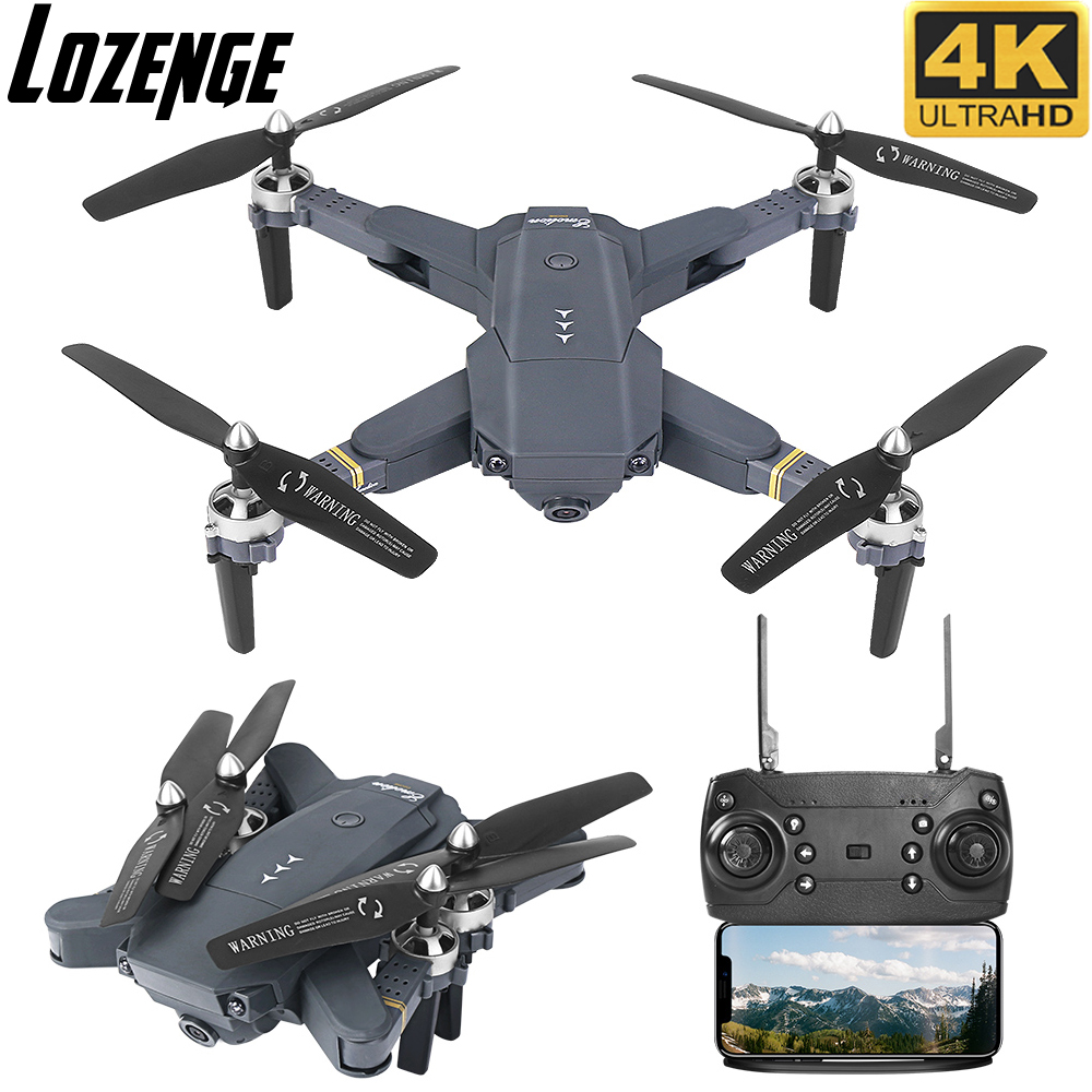 Lozenge Quadcopter Drone Camera Remote-Control with 4K Toy XT-1 title=