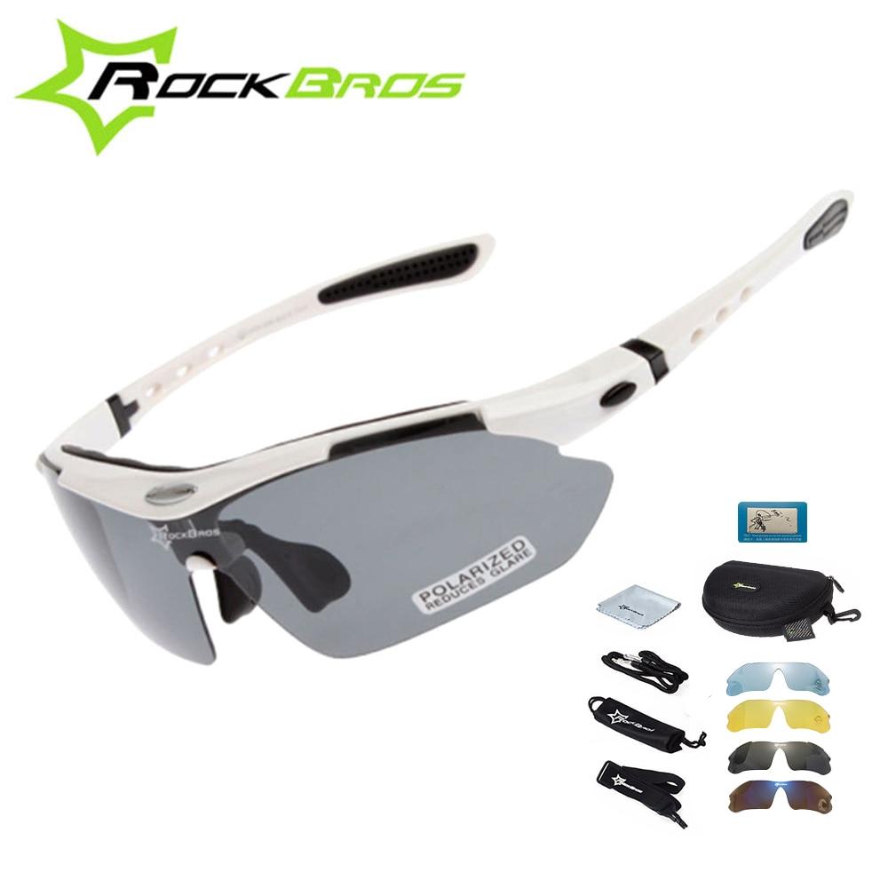 New Polarized Cycling Glasses By Rockbros Bike MTB Sports Sunglasses  Goggles