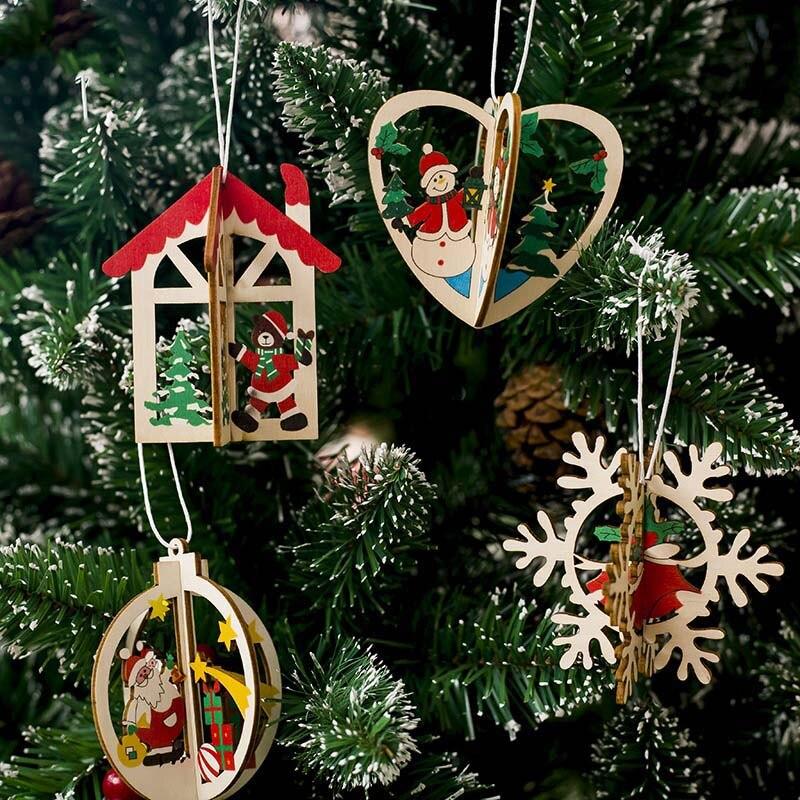 redondo adorno colgante de /árbol de Navidad 2 piezas de marco de fotos colgantes de Navidad marco de fotos transparente bola colgante decoraci/ón para el hogar DIY fiesta regalos para ni/ños