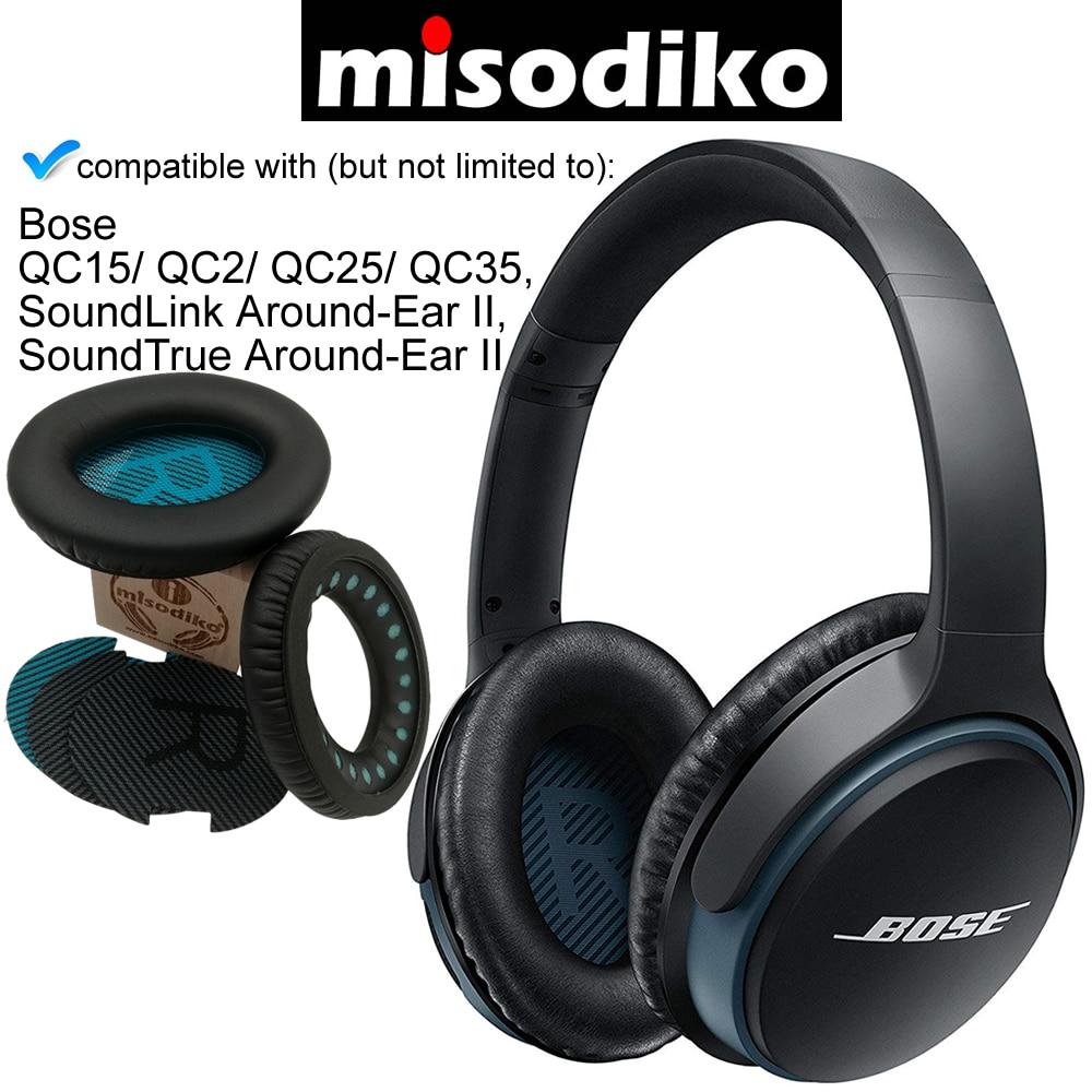 Almohadillas de repuesto para auriculares Bose QuietComfort 2 15 25 35 Almohadillas para auriculares QC2 QC15 QC25 QC35 AE2 AE2i AE2w SoundTrue SoundLink
