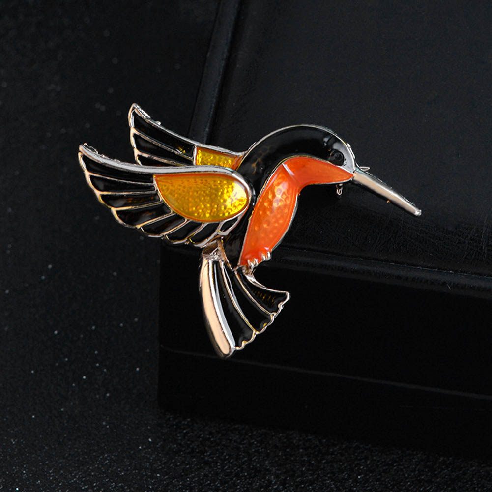 Animal Badge Enamel Pin Birds Brooch For Women Lady Classical Fashion Accessories Sweater Decoration Pins