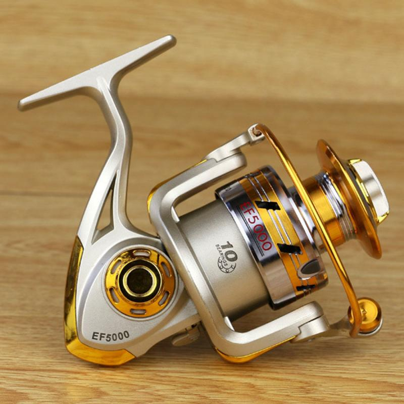 Fishing Reel Metal Rocker Reel Fishing Reel Spinning Wheel Fishing Accessories title=