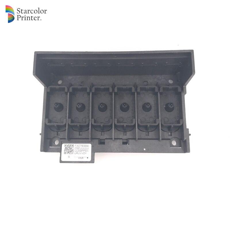 Starcolor printer spare parts XP600 head cover adapter plastic for Epson XP600 printhead Nuocai manifold 1pc