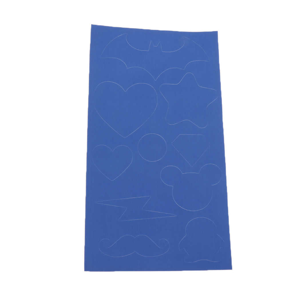 5pcs Waterproof Adhesive Tent Repair Patch Kit for Sleeping Bag Tape Blue