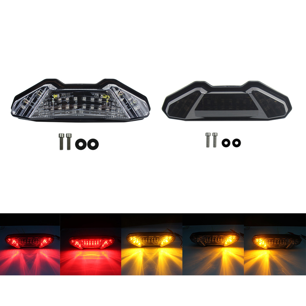 Tail-Light Brake-Turn-Signal MT-10 Motorcycle Yamaha Mt09 Smoke/clear Yellow Rear LED title=
