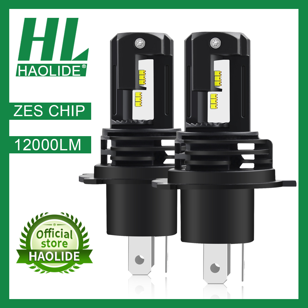 /HL ZES Chip H1 H4 H7 H11 LED Ice Bulbs for Car Headlights HB3 9005 HB4 9006 LED H8 Fog Lamp 6000K Motorcyle Lamps H4 LED Bulbs