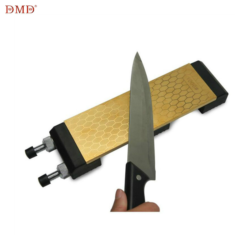 DMD Sharpening-Stone Holder Diamond Titanium-Knife 400 Double-Sided Grits 1000 And  title=