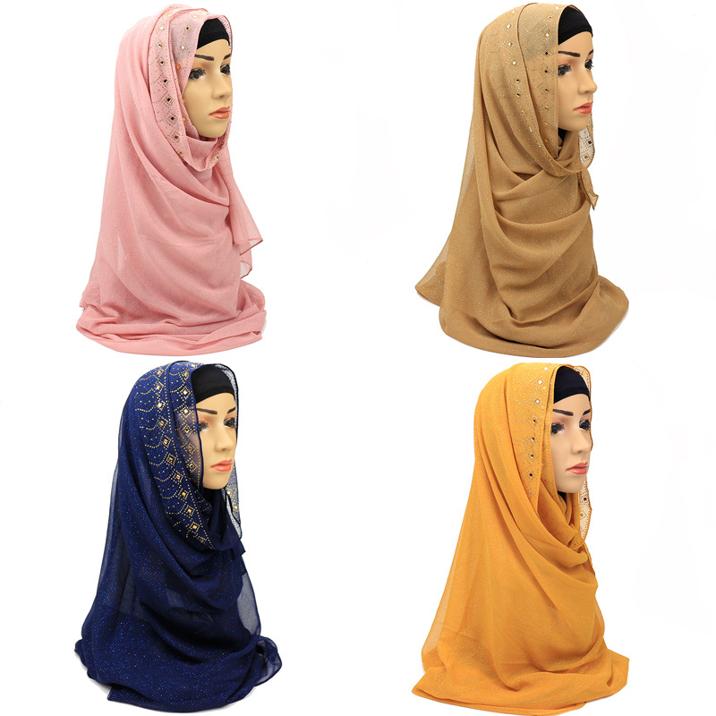 Stretchy hijab large plain lycra maxi shawl wrap//clearance sale Jersey scarf