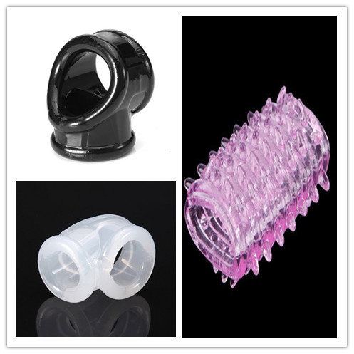 Time Delay Cock Cage Adult Toys For Men Chastity Device Scrotum Rings Penis Sleeve Cockrings Ball Stretcher Cock Ring Tool