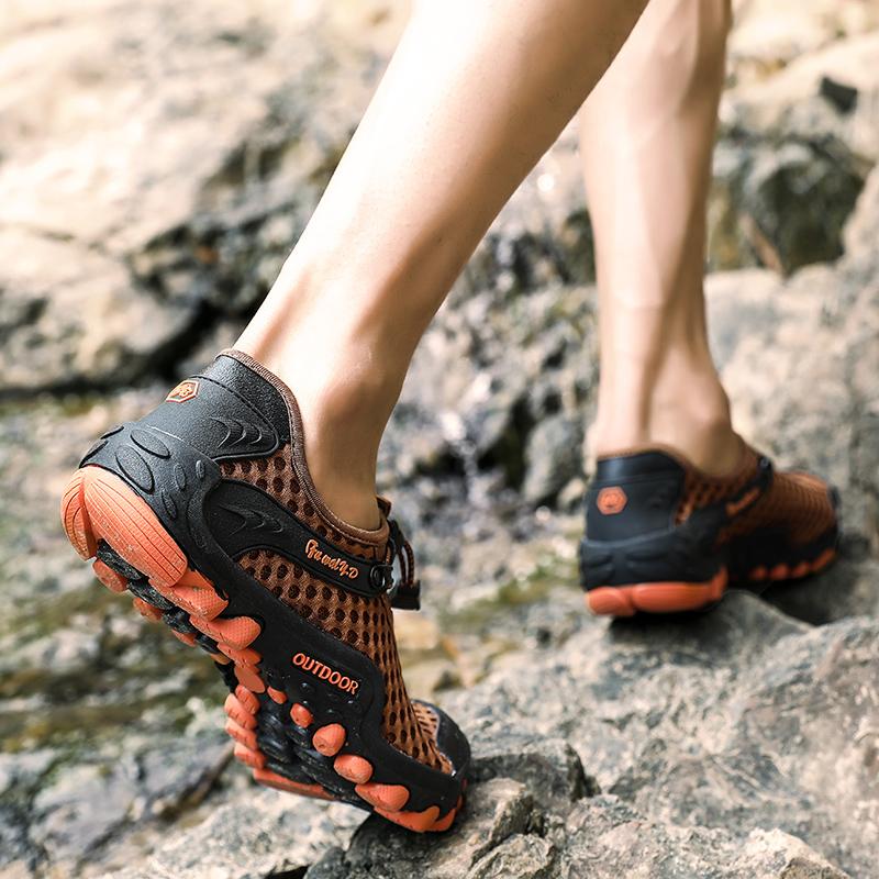 Aqua Shoes Ultra-light Quick-drying Beach Water River Walking 2019 Summer Men Mesh Breathable Flotillas Outdoor Hiking (51)