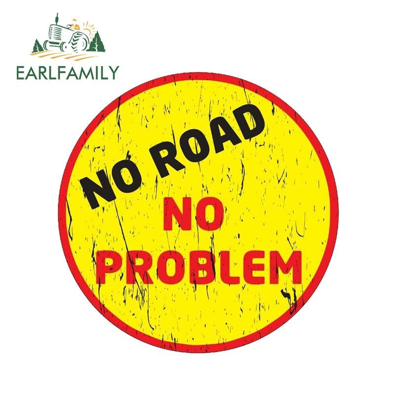 "No Problem Funny Bumper Sticker Decal Off Road 4x4 Diesel Truck Mud 7.5/"""