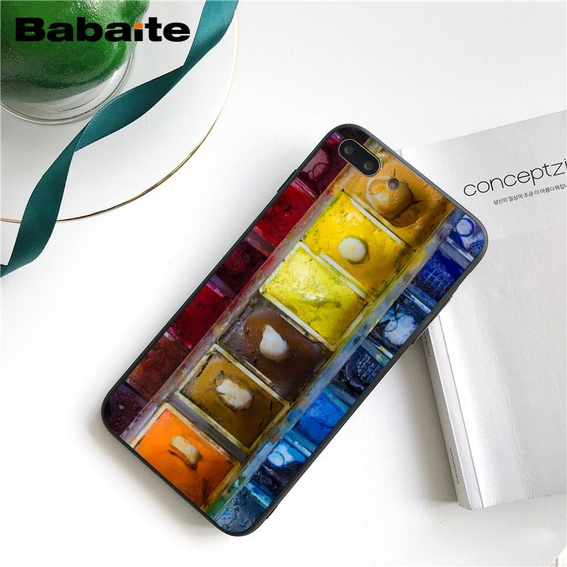 Colorful Watercolors Set Paint Palette Cake Macaroon Makeup (1)
