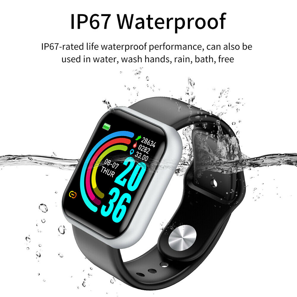 Wristwatch - Smart Watch Waterproof Smartwatch For Android IOS Smart Watch Kids Men Women Heart Rate Monitor Blood Pressure Watch