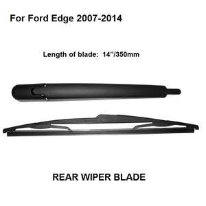 """Pour Ford Edge SUV Aero Vu Devant Plat Essuie-Glace Lames 26//20/"""" pouces"""