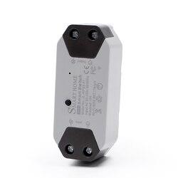 Tuya WiFi умный светильник, универсальный выключатель, таймер, приложение Smart Life, беспроводной пульт дистанционного управления, работает с Alexa ...