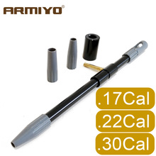 Rifle-Brush Clean-Kit Hunting-Accessories Universal .30cal Tactical Armiyo Gun To Bore-Guide
