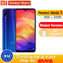 Xiaomi Redmi Note 7 3GB 32GB Quick Charge 4.0 Fingerprint Recognition 48mp New Smartphone