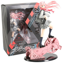 DARLING In The FRANXX Zero Two Uniform Ver. 1/7 Figure Collectible Model Toy