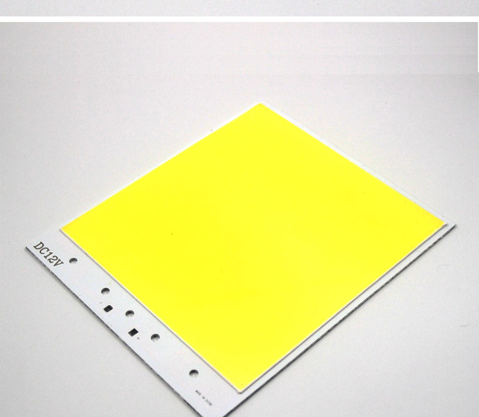 Super Bright Dimmable 12V COB LED Lights Board Panel Lamp max 300W LED Lighting with Dimmer Cold White 6500K COB Bulbs for DIY (3)