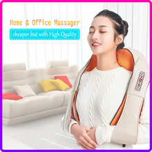Body-Neck-Massager Shawl Heated-Kneading U-Shape Electrical-Back-Shoulder Infrared Multifunctional