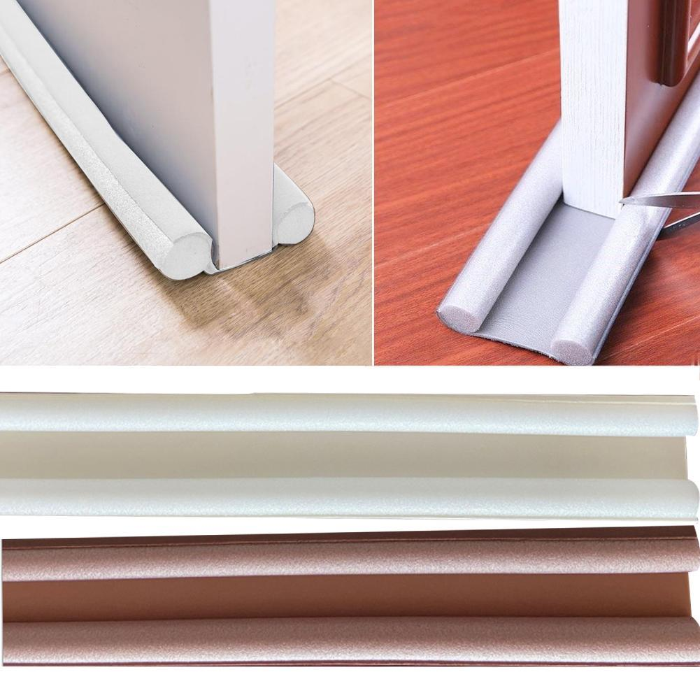 Color : Grey Rubber Seal Strip Under Door Weather Stripping Self-Adhesive for Gap of House Or Shower Weatherproof Soundproof Moisture-Proof Strip L:93CM W:10CM 402