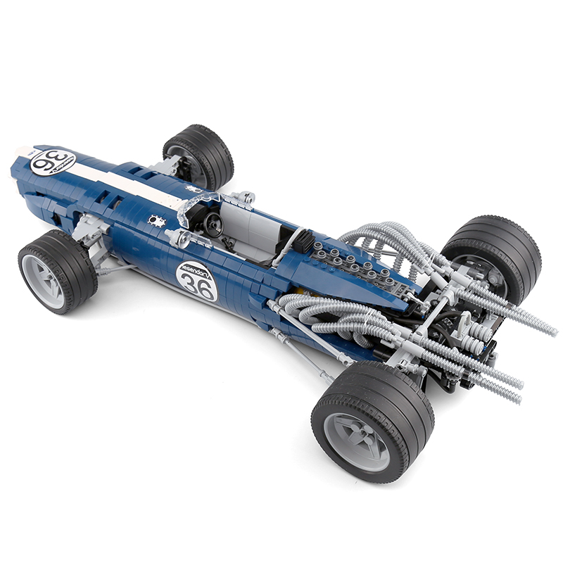 XINGBAO XB-03022 Formula 1 Racing Car Blue Sonic Building Block 21
