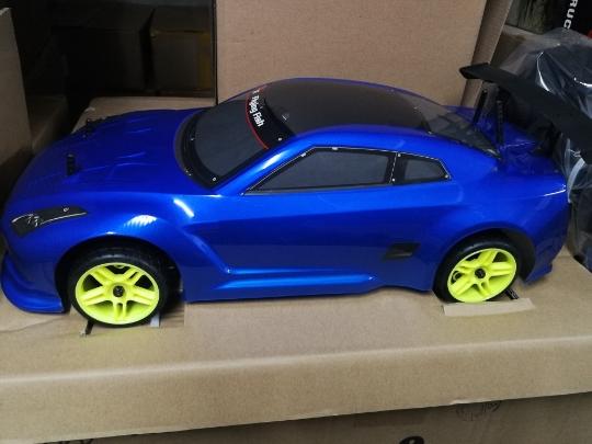 HSP super fast rc car blue