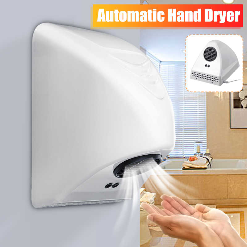 Hand Dryer Hotel Commercial Electric Automatic Induction Hands Drying Device