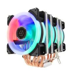 ALSEYE кулер для процессора 6 Heatpipe 3 RGB вентилятор 4pin ШИМ 90 мм куллер для процессора Высокое качество процессор охлаждения новое поступление