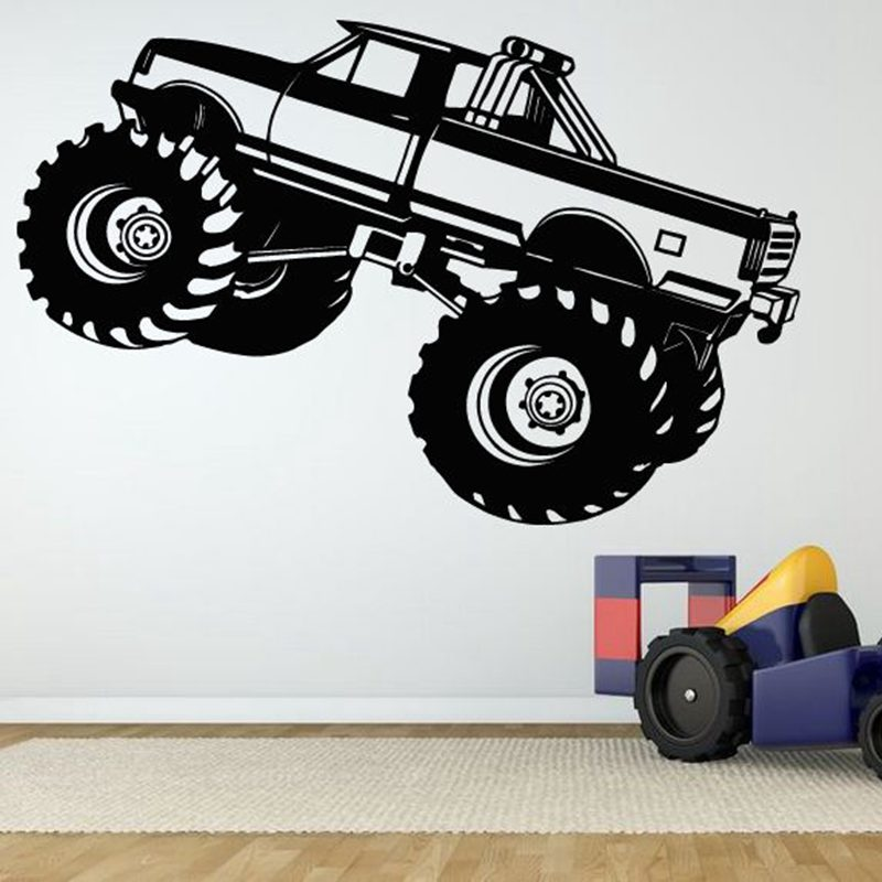 Car Sticker 4x4 SUV Vehicle Decal Classic Cars Posters Vinyl Wall Decals Pegatina Quadro Parede Decor Mural Car Sticker