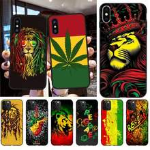Чехол для телефона CUTEWANAN Cori Reith rasta lion reggae bob marley, чехол для iPhone 11 pro XS MAX 8 7 6 6S Plus X 5S SE XR(Китай)