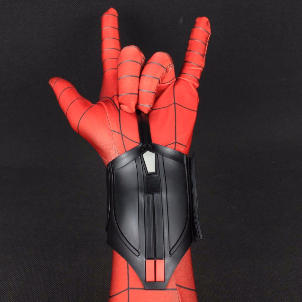 1 Pair Spider-Man Homecoming Spiderman Peter Parker Web Shooter Cosplay Prop