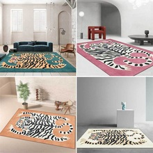 Rugs Carpets Floor-Mats Tiger-Skin Play Area Animals Kids Bedroom Cartoon Cute Home Game-Rug
