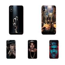 Милый чехол из ТПУ Jay Z Kanye West Watch The Throne для Xiaomi Redmi Mi 4 7A 9T K20 CC9 CC9e Note 7 8 9 Y3 SE Pro Prime Go Play(China)