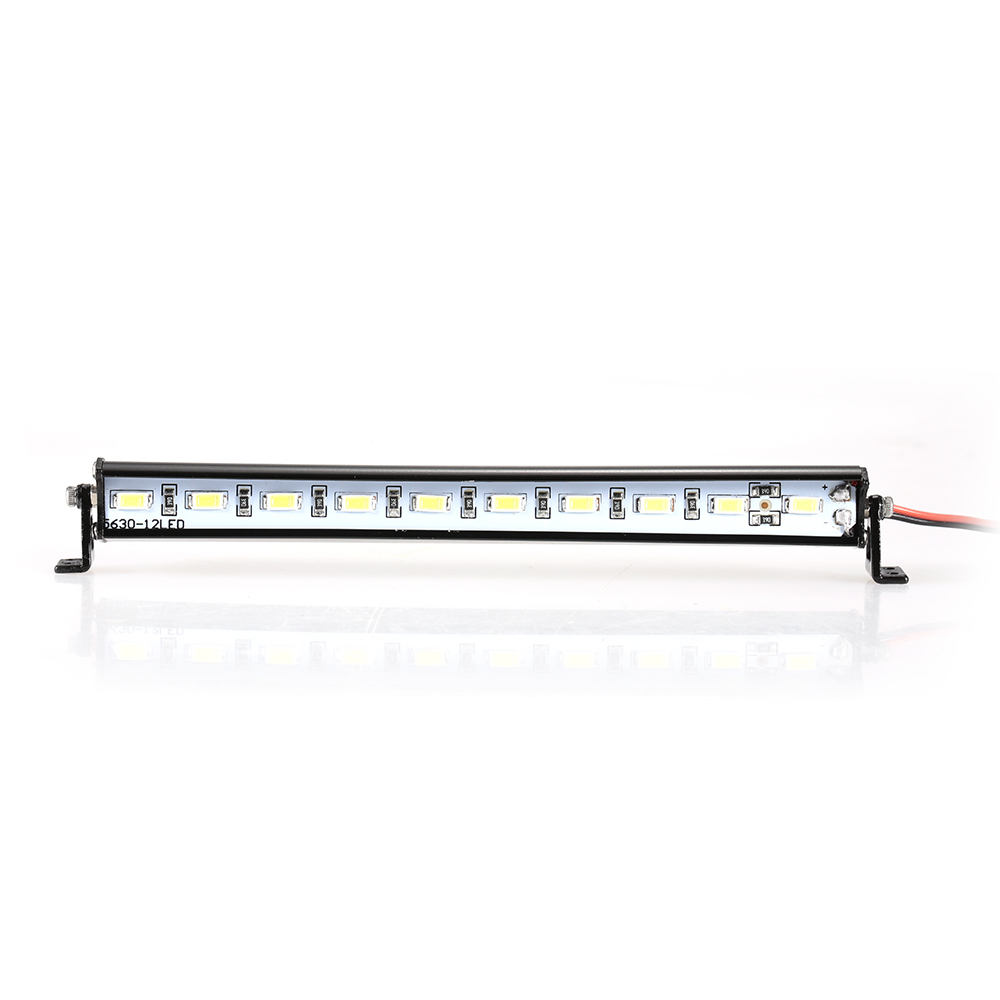 Metal Roof Lamp LED Light Bar for RC Car 110 RC Crawler Traxxas Trx-4 SCX10 90027 SCX10 II 90046 RC4WD D90 Car Truck Part (8)