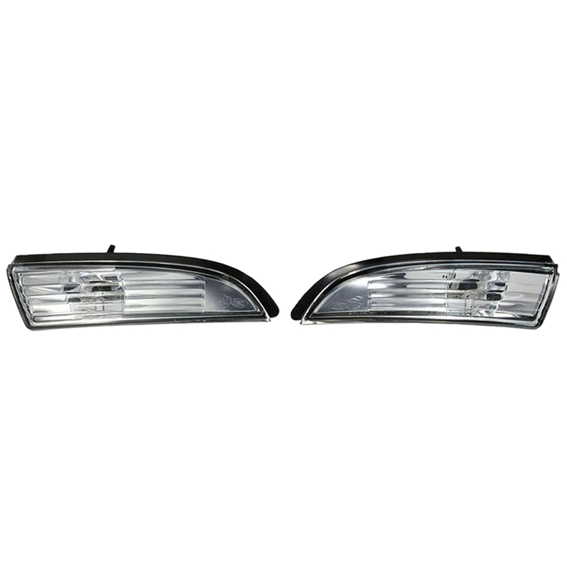 Pair Door Wing Mirror Indicator Cover Light Repeater For Ford Fiesta MK8 08-14