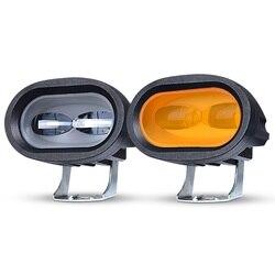 RACBOX 6D  Lens 20W LED Work Light Bar Car Driving Fog Spot Light Offroad LED Work Lamp Truck SUV ATV Led Car Retrofit Styling