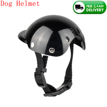Helmet Dog-Hat Motorcycle Small New Fashion Pet ABS Cool Plastic Outdoor