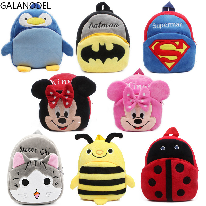 School-Bags Backpacks Girls Kids Boys Mini Child Cartoon for Plush Toddler title=