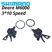 Bike Shifters Trail Mountain-Bicycle-Shift-Set Lever-Sl-M6000 Rapidfire Shimano M615