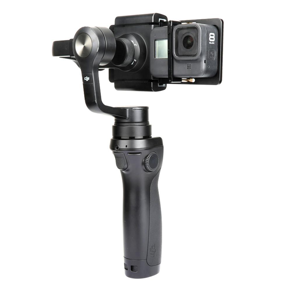 For GoPro Hero8/7/6 Osmo2 SARGO Little Ant Adapter Fix Clip For Zhiyun Stabilizer Conversion title=