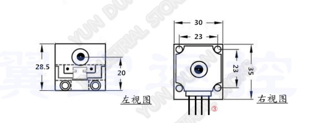 NEMA11 28mm Stepper Motor Mini Sliding Table Rail Linear