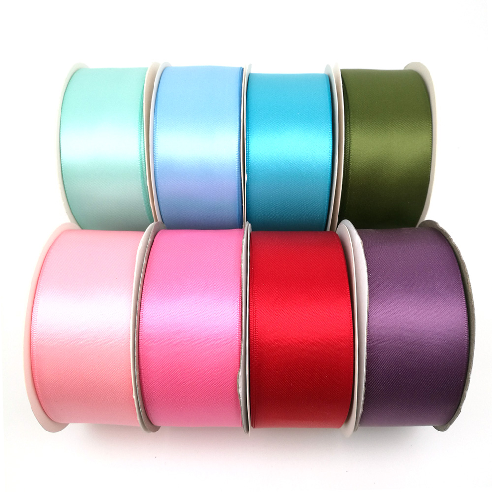 6 metres 36mm OR 48mm wide single faced satin suitable for Car Ribbon or Sewing