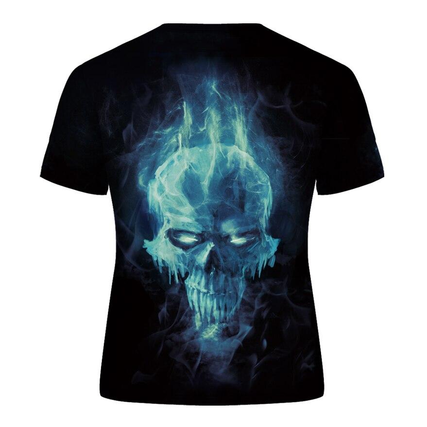 DE003-T恤短袖模版-后