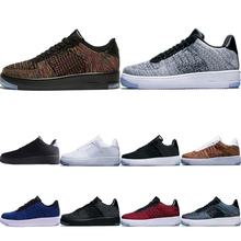 Skateboarding-Sneaker AF1 Air-Sports-Shoes Knit Low Stretch Low-Cut Built-In-Zoom
