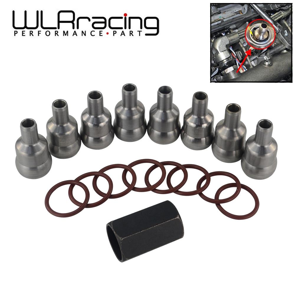 High Pressure Oil Rail Ball Tube Repair kit /& TOOL /& ORINGS For 03-10 Ford 6.0L