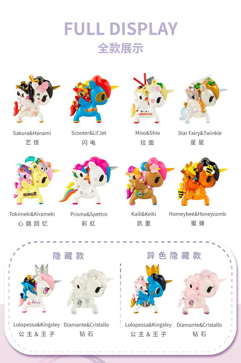 HONEYbee /& HONEYComb NeW TOKIDOKI Unicorno BAMBINO Series MINI Super RaRe